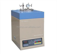 1200.C lab Vacuum electric Crucible melting Furnace for gold silver melting