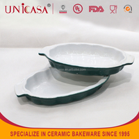 UNICASA best selling product hotel&restaurant unique shaped ceramic dish