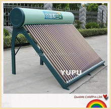 Whole glass vacuum tube solar water heater with CE CCC ISO
