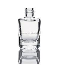 nail arts design nails polish glass empty bottles screwed caps nylon hair brush cosmetics packing nail polish packaging
