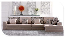 Leather/Fabric/Velve/PVC/PU Living Room Sofa Sets in Modern/Antique/Chesterfield Design with 1+2+3/1+1+3/Sectional Combination