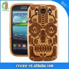 Ancient good taste totem case for Samsung Galaxy S3 made from cherry wood