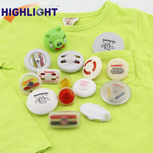 Highlight I007 plastic EAS CE/ISO certificated ink pin / Garment EAS Hard Tag Pin