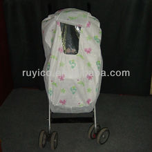 cheap wholesale baby stroller rain covers with transparent window