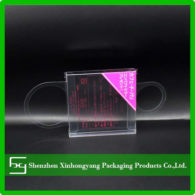 Dobrável personalizado impresso caixa de embalagem PET de plástico para óculos de sol