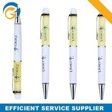 Liquid Expensive Promotional Metal Ballpoint Pen