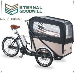 Electric Cargo Bike Three wheel Cargo Bike Cargo tricycle UB9036E