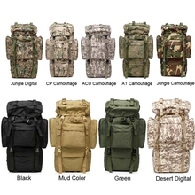 US Special forces bag tactical pack camping backpack large capacity military gear