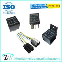 ZT 12v 24v 4pin 5pin 80a 100a PCB auto relay siemens automotive relays
