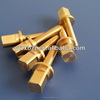 manufactory price and high quality hex brass bolts and nuts