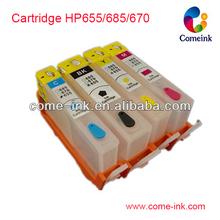 Cartuchos de tinta para hp deskjet 4625 cartuchos de impresoras 655/685/670