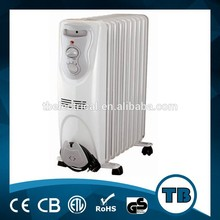 free standing oil filled radiator/electric oil heater with CE&ROHS