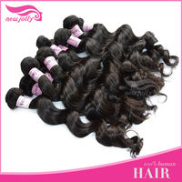 HOT SALE! High quality free tangle Brazilian virgin hair extension ideal hair arts