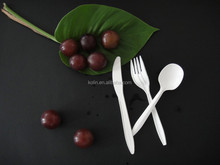 6 Inch PSM Corn Starch based cutlery/eco friendly disposable cutlery
