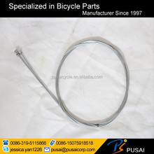 black PVC housing brake cable for motorcycle and bike