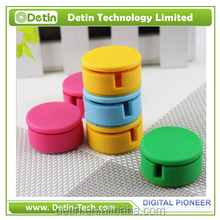 Cable Clips & Cord Management Desktop round cable tie Organizer & Computer Electrical