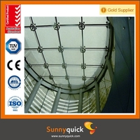 Durable 1.6mm steel thickness building vitreous enamel panel in Curtain Walls