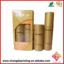 new design paper oil shampoo box packaging