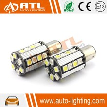 Hotest 5W 12-14.5V CANBUS, constant current, non-polarity, color changing led car lighting 9smd led car light