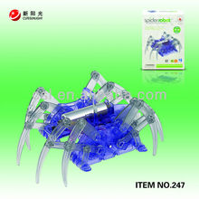 Educational B/O chenghai toys robot toy spider