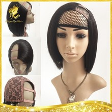 Indian Remy Highlights Human Hair Full Lace,lace Front, U Part Short Straight Bob Style Wig