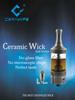 Excellent Design Hygeia tank ceramic wickless coil Healthy E cig 6ml capacity Ceravape Patented vape product