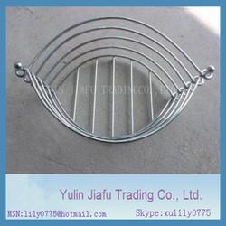 Oval shape decorative antique stainless steel fruit basket