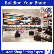 2014 Fashion element Retail Handbags Shop Interior Design