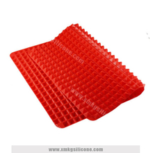 Red Non-stick Silicone Baking Mat Set Cooking Mat Oven Baking Tray