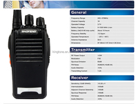 UHF400-470MHz Baofeng radio with programming cable+ software, microphone speaker, and earpiece (BF-777S)