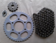 China 42T 14T High frequency Motorcycle Chain Sprocket kits for BAJAJ
