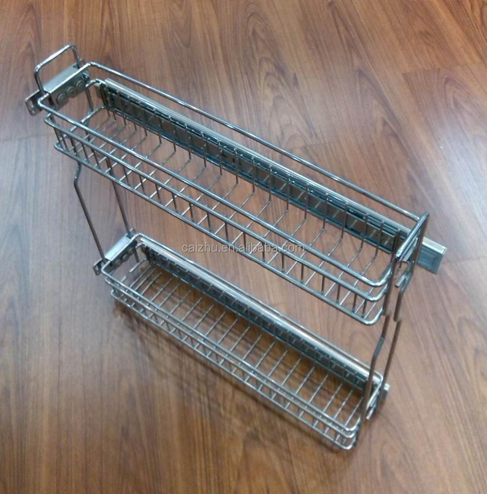 Kitchen Cabinets Basket Drawer: Kitchen Cabinet Drawer Kitchen Pull Out Basket Organizer