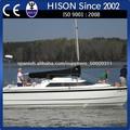 hison fábrica de venta directa de la costera de alta velocidad de barco de vela Velero catamarán 7.85m