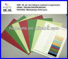 textured color paper/textured color paper/leather grain binding paper