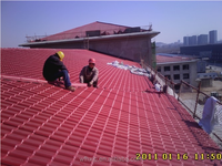 synthetic roof tile made in china,UV resistance, competitive price with stable quality