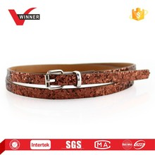 Women's thin fashion belt