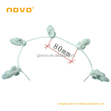 NOVO factory 2015 hot sale wireless curtain string accessories for home decor