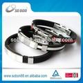 Personalizada deportes pulsera de silicona para el sexo masculino& hembra