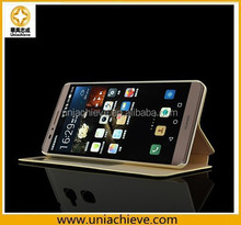 Huawei Compatible Brand and Leather Material OEM leather case for Huawei Ascend Mate 7