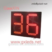 """16"""" 2 electronic queuing system queue token number display"""
