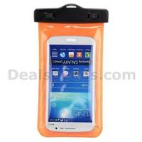 Orange Pack Case Armband Pouch Waterproof Dry Bag for Samsung Galaxy Note 3 N9000 N9002 N9005 N9006 (Size:17*9cm)