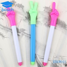 Wholesale Smooth plastic retractable pen plastic novelty pen