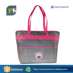 Non Woven Foldable Shopper Bag with Zipper