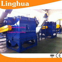 pe & pp recycling/pe waste plastic recycling machine