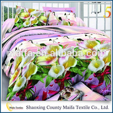 Shaoxing Supplier Royal style Elegant cotton world bedding set