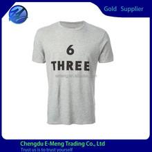 Fashion Short Sleeve Mens Sport T shirt with Printing