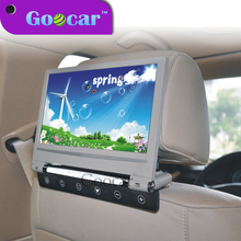 Newest Universal widesreen 9 inch car hanging headrest TV player 1080p car monitor