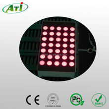 """0.7"""" 8x8 round dot 1.9mm white color dot matrix led display, promotional item with 3 years guarantee"""