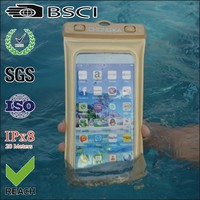 Beautiful and newly mobile phone floating waterproof bag