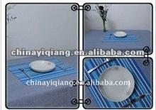 2015 New Fashion Design Plastic Dining Table mat